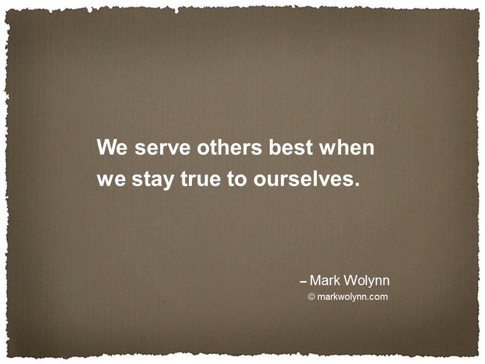 Serve others best