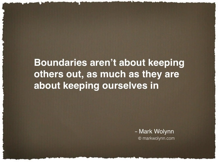 Having a boundary…
