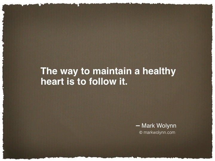 The way to maintain a healthy heart…