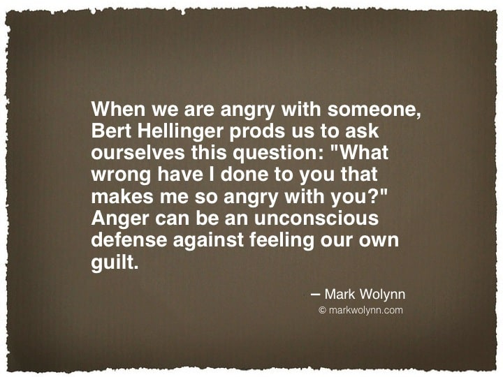 When we are angry with someone…