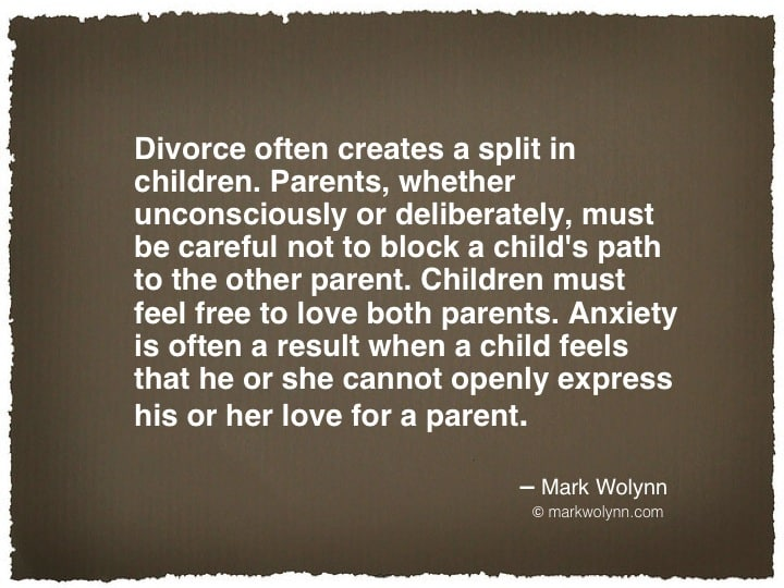 Divorce often creates…