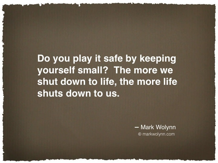 Do you play it safe…