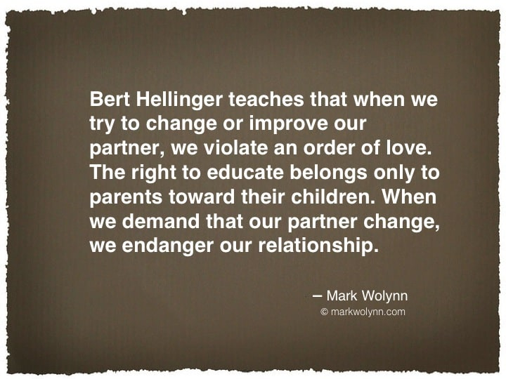 Bert Hellinger teaches…