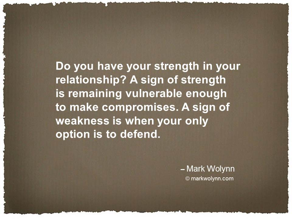 Do you have strength in your relationship?