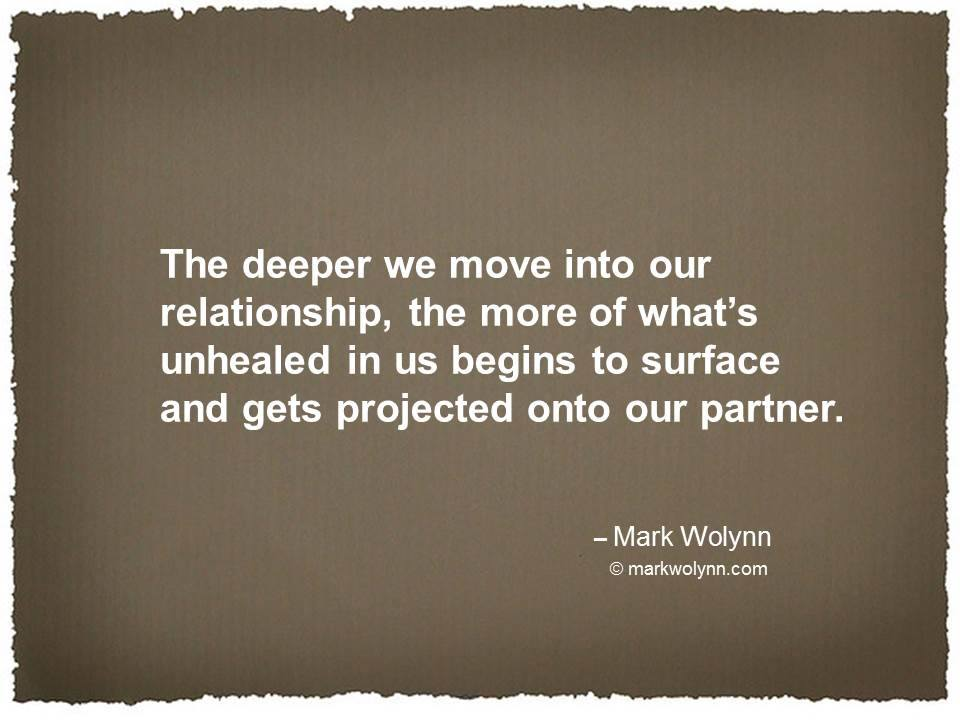 the deeper we move