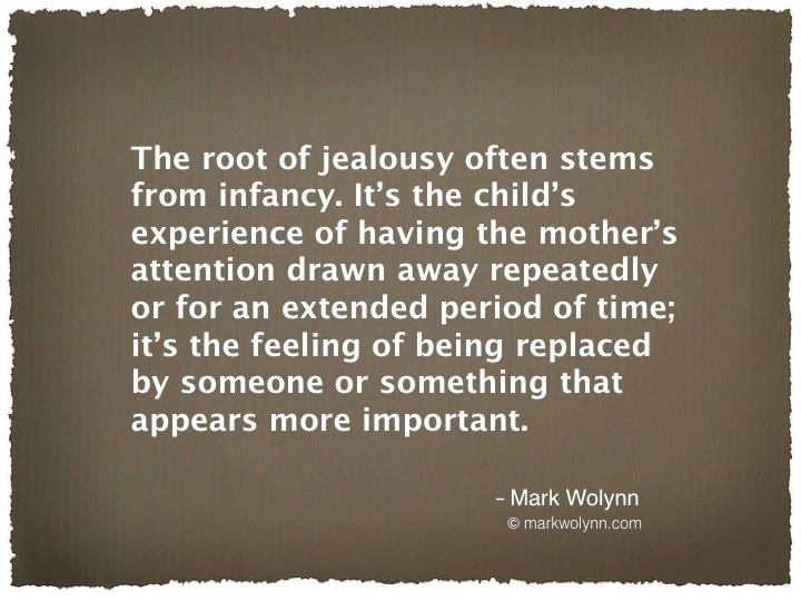 The root of jealousy